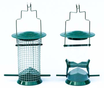 Meripac Hanging Nut and Seed Tube Feeder Set as an optional extra