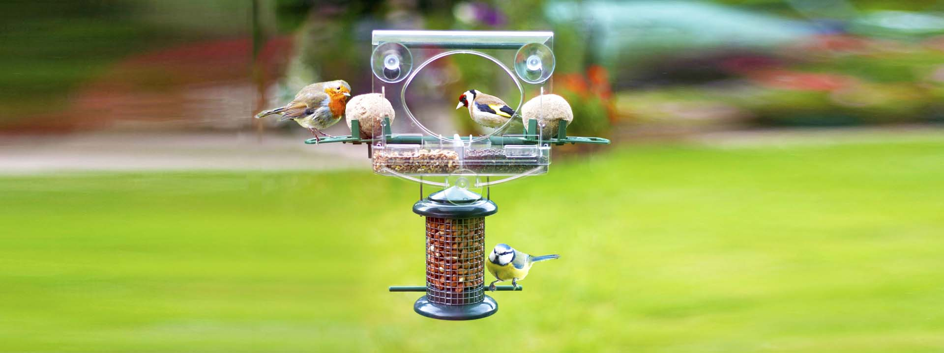 Meripac Window Bird Feeder Total